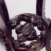 Стол для вазы, XIX в. Китай. Красное дерево. Восстановление резной проножки по аналогу.