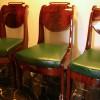 Копия стульев, XIX в. Классицизм. Массив красного дерева, «пламя», бронза.