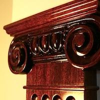 Предметы интерьера: Декоративные колонны